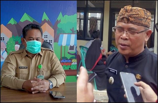 Camat Singaparna Terus Mensosialisasikan  Guna Pencegahan Virus Corona Ke Setiap Dusun/RT