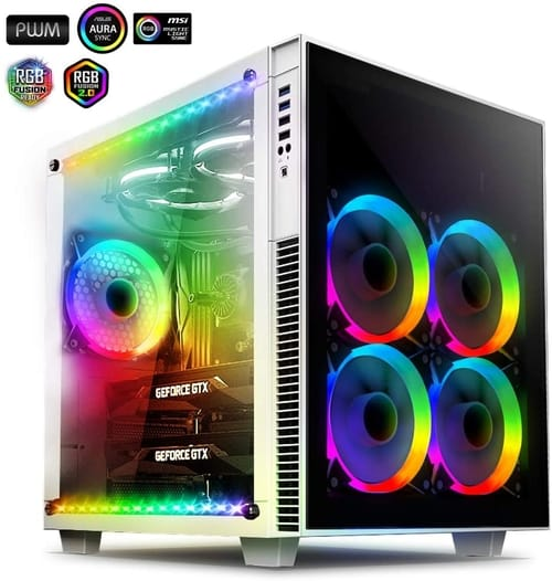 Review anidees AI Crystal Cube AR V3 Computer Case