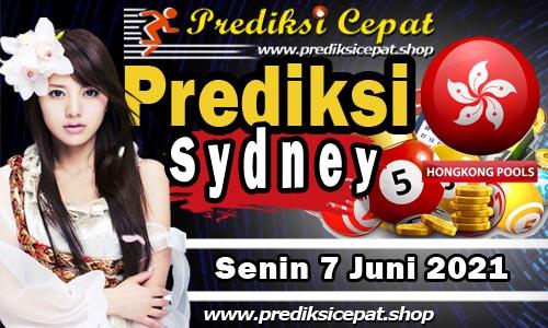 Prediksi Togel Sydney 7 Juni 2021