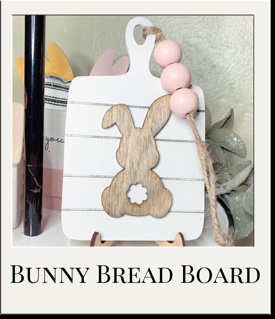 Bunny Tiered Tray Decor