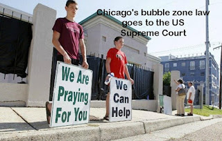 Chicago's bubble zone law goes to the US Supreme Court