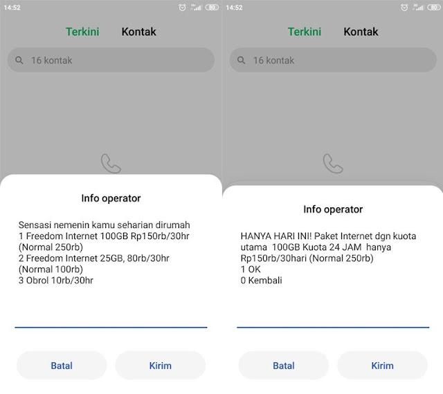 Cara Mengaktifkan Paket Internet Indosat 100GB 150.000