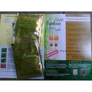 Jual Koyo kaki Bamboo Asli Original  Foot Patch Detoxs AGEN
