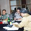 Cegah Tangkal Virus Covid -19, Kodam Hasanuddin Rapat Bersama Forkopimda