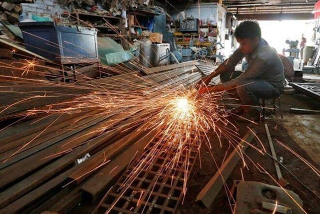 India's index of industrial production grows 11.5% in July :IIP growth
