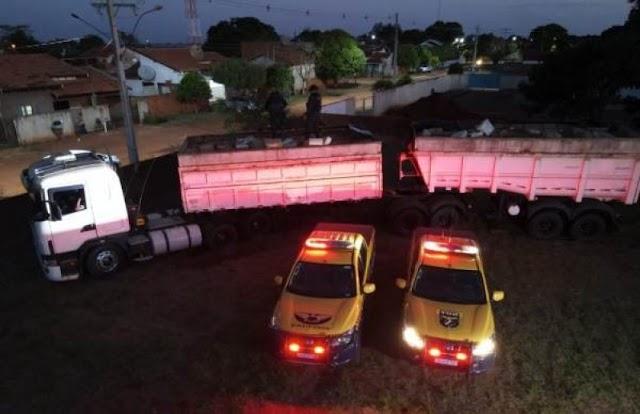 Motorista é preso com 36,5 toneladas de maconha em carreta. Maior apreensão do Brasil