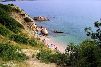 spiaggia Sveta Marija Bosana isola di Pag