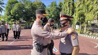 Kapolres Enrekang Pimpin Korps Raport Kenaikan Pangkat Pengabdian