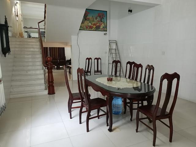 Phòng khách nhà nguyên căn thị xã Phú Mỹ Bà Rịa Vũng Tàu