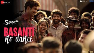 Basanti No Dance Lyrics - Super 30 | Hritik Roshan