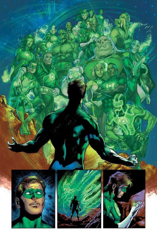 Green Lantern 80th Anniversary 100-Page Super Spectacular #1/DC/Reprodução