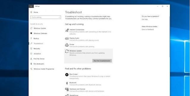 Hướng dẫn khắc phục các lỗi khi cập nhật Windows 10 Fall Creators Update