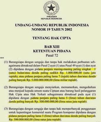 Undang-Undang Tentang Hak Cipta