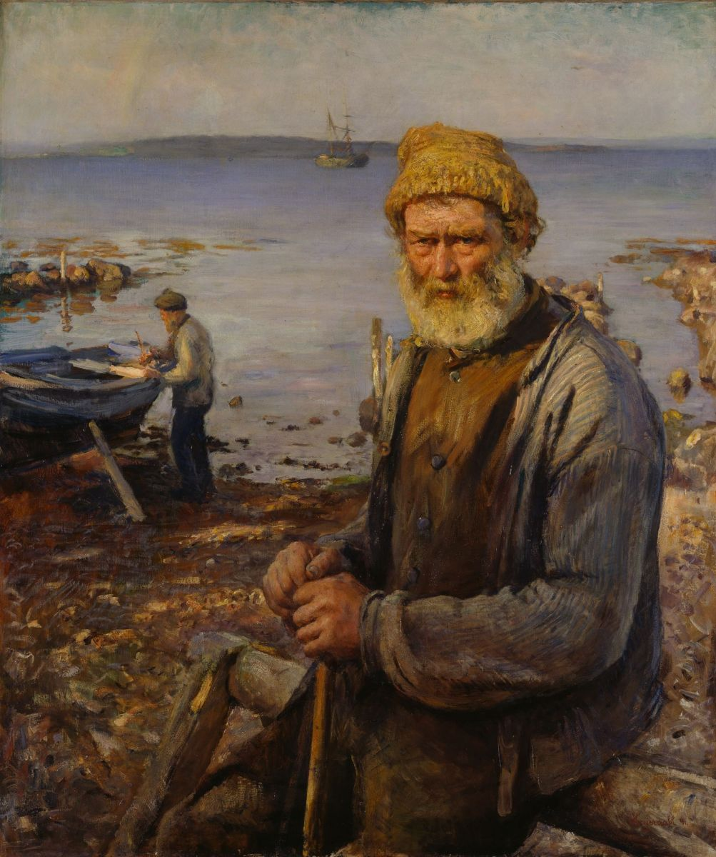 Hans  Heyerdahl  The  old  fisherman