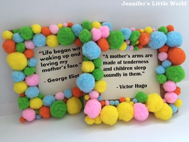 Jennifer\'s Little World blog - Parenting, craft and travel: Pom pom ...