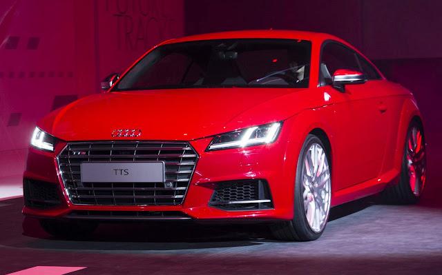 Novo Audi TT-S 2017