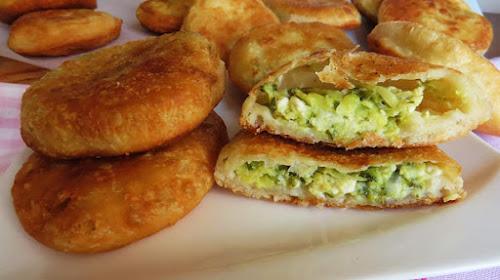 Mini Pite s Tikvicama i Sirom / Mini Pie with Zucchini and Cheese
