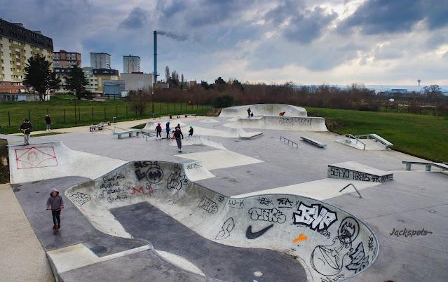 skate park acheres