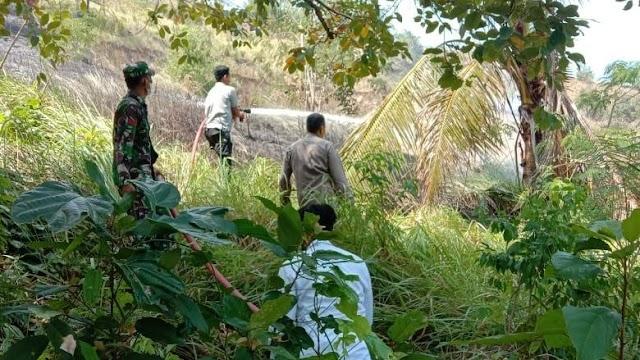 Hampir Menjalar Ke Pemukiman Warga, Dua Hektar Lahan Ludes Terbakar di Lhokseumawe