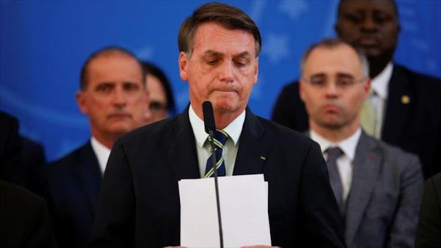 Investigación contra Bolsonaro debería conllevar su juicio político