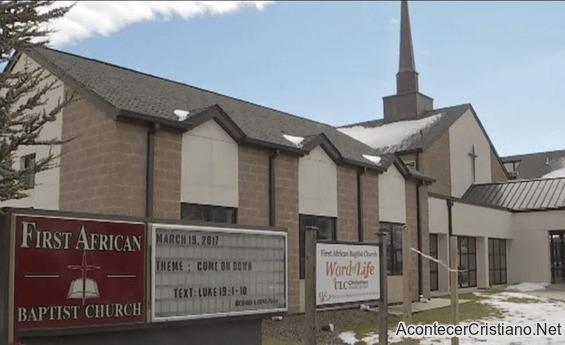 Primera Iglesia Bautista Africana en Sharon Hill