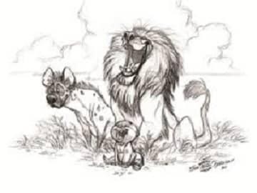 जिम कार्बेट पार्काक् शेर