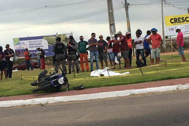 Acidente em contorno deixa motociclista morto em Petrolina (PE) - Portal Spy Noticias Petrolina Juazeiro