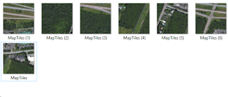 Map tiles recovered from iOS 7