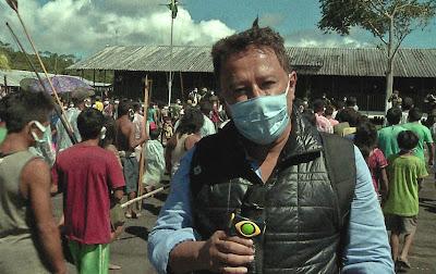 O repórter Valteno de Oliveira mostra as dificuldades enfrentadas pela população da Amazônia - Divulgação
