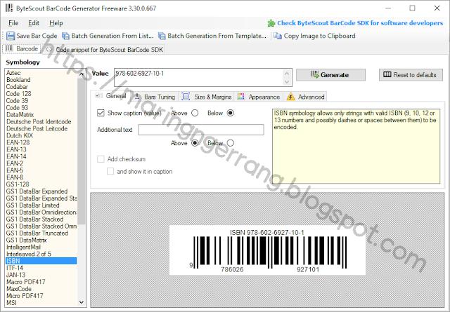 2 Cara Mudah Membuat Barcode Offline