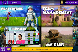 [Android] Dream League Soccer 2019 Mod Fortnite