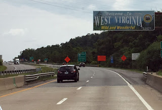 Eastward, Ho! Day 43 and 44:  Overnight stay near Dawson, WV and visiting Martha s friend in Charlottesville, VA