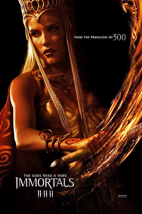 Poster de Athena en Inmortals