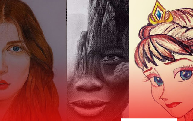 مسابقة رسم - تعلم الرسم - الفيوم - 2020