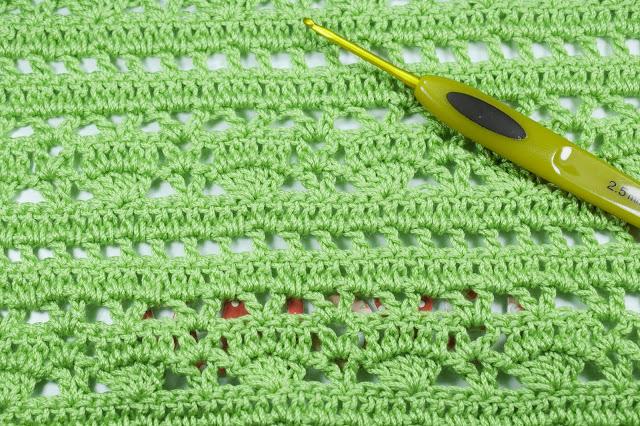 2  - Crochet Imagen Puntada combinada para blusas a crochet y ganchillo por Majovel Crochet