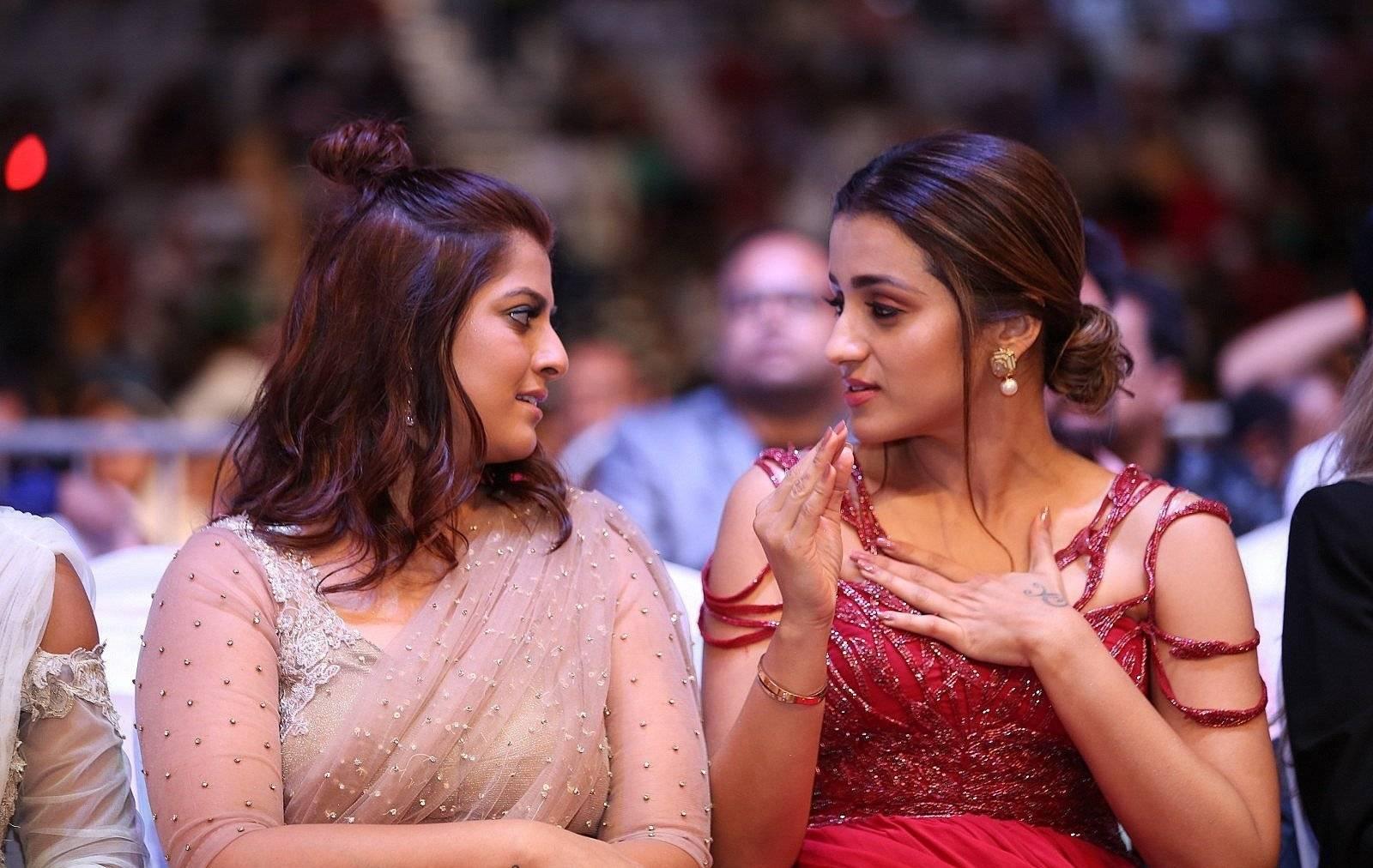 South Indian Actress Trisha Krishnan at SIIMA Awards 2019