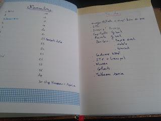 calendex bullet journal