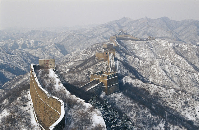Great Wall China Snow