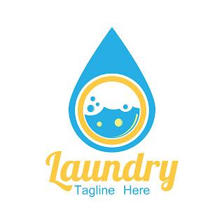 Gambar logo laundry