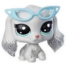 LPS Series 2 Sparkle Pets Tinsel Spanielton (#2-S14) Pet