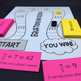 https://www.teacherspayteachers.com/Product/Equation-Invasion-A-Solving-Equations-Board-Game-3486146