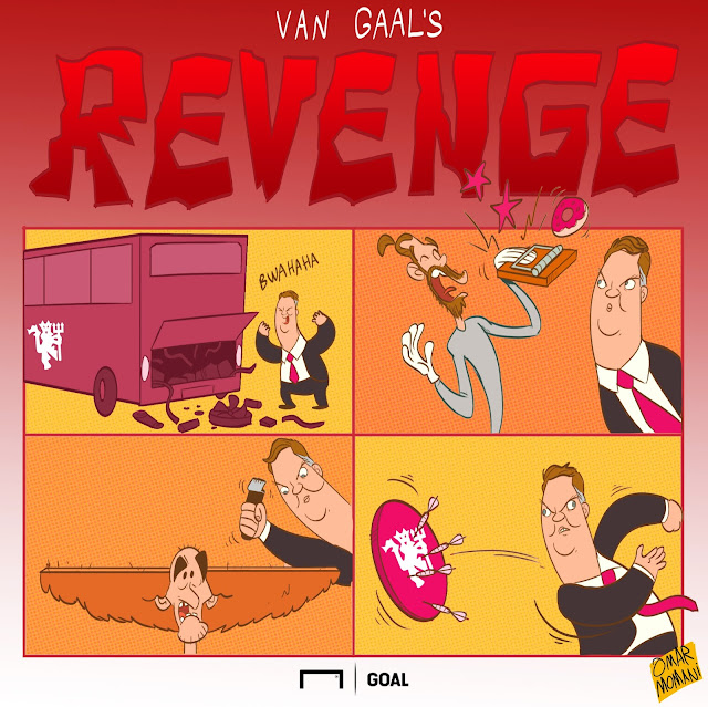 Van Gaal cartoon