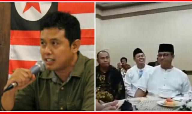 Udah Diringkus Polisi, Pendiri Negara Rakyat Nusantara Yang Inginkan NKRI Bubar Ternyata Pernah Kongkow Bareng Anies