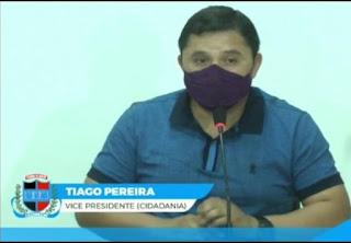 Vereador Tiago  Pereira pede construção de barragem subterrânea para beneficiar agricultores da zona rural de Cacimba de Dentro