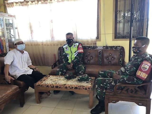 Sosialisasi dari Babinsa TNI AD ke SMA N 1 SUNGAI BEREMAS