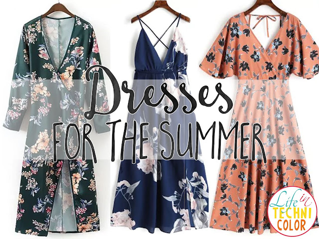 Zaful Dresses for Day and Night