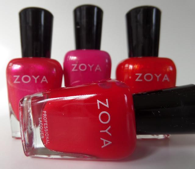 zoya merry & bright quad bottles