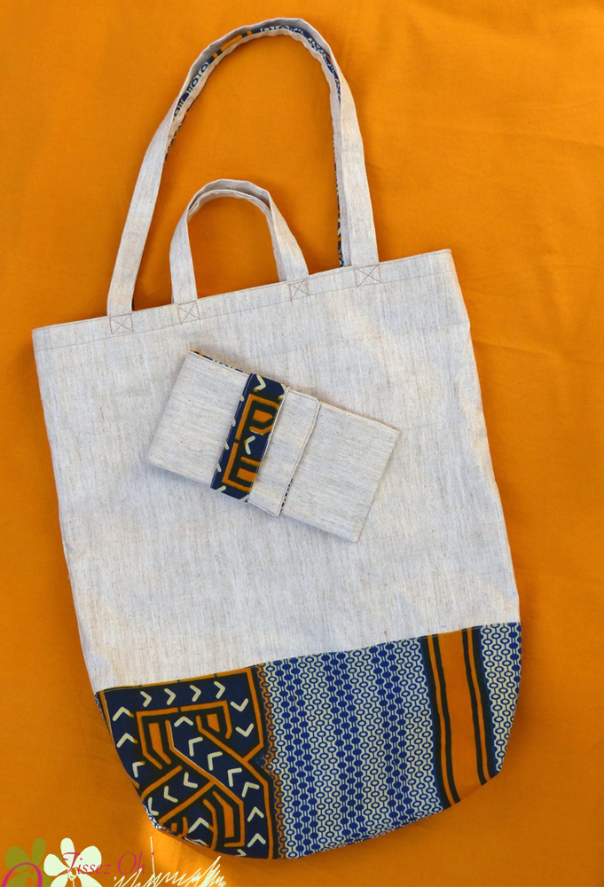 sac style tote bag avec sa petite pochette. Black Bedroom Furniture Sets. Home Design Ideas