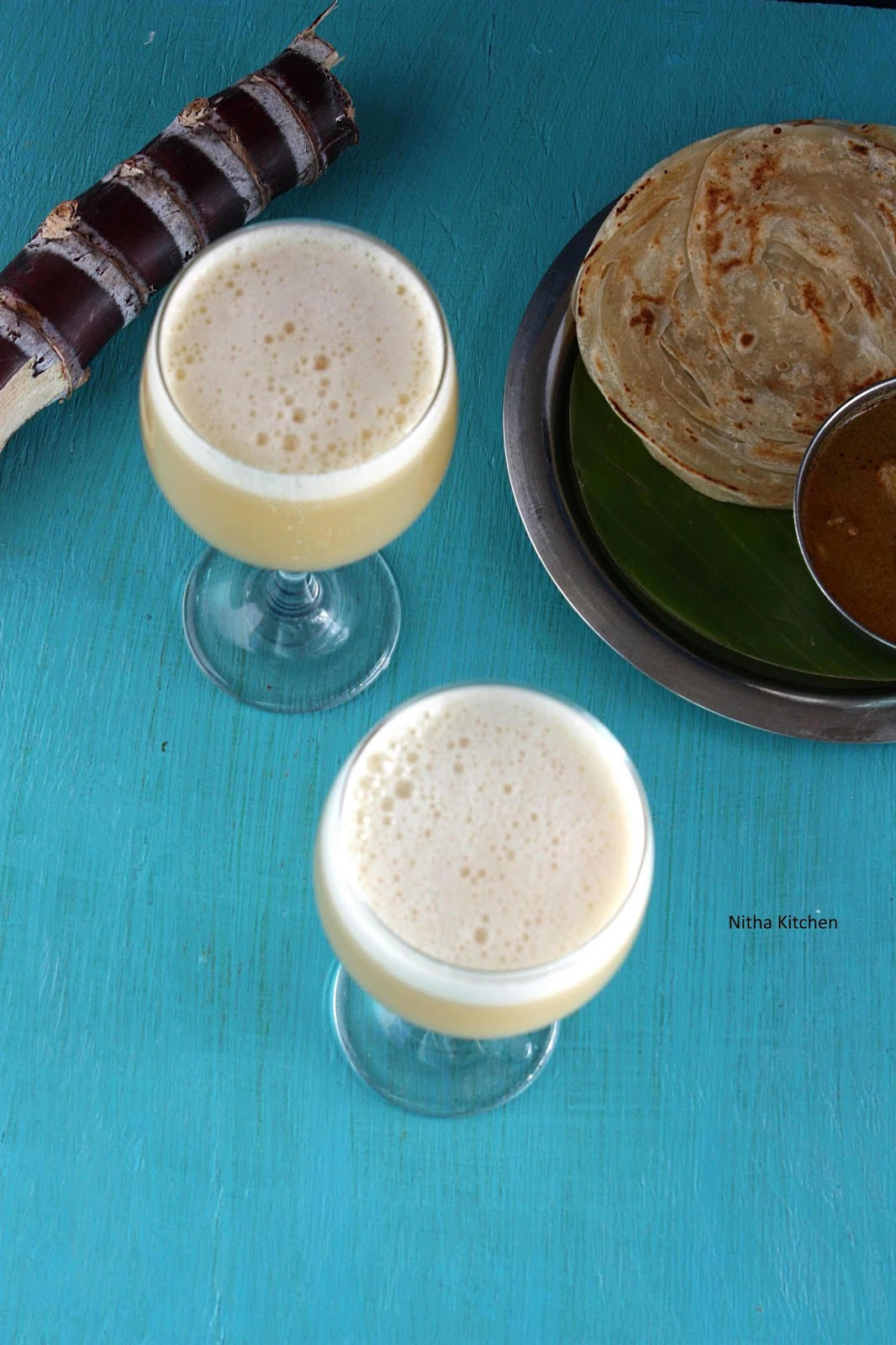 Homemade Sugar Cane Juice | Karumbu Juice | கரும்புச் ...