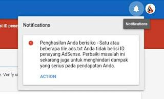 Cara Mengatasi Ads.txt Google Adsense Blogger yang Bermasalah